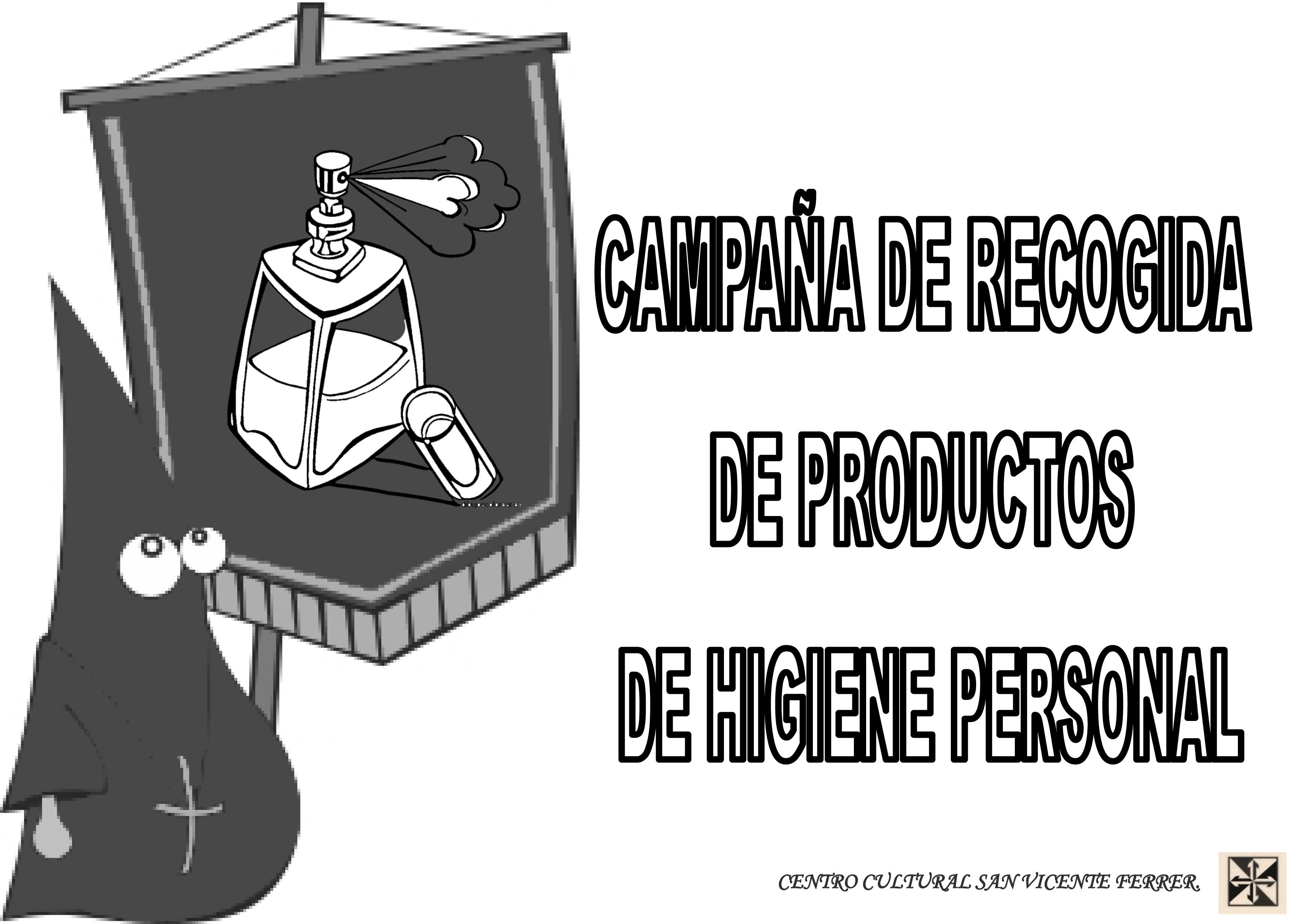 recogida productos de higiene personal