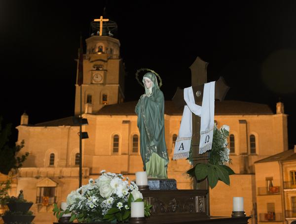 PROCESIONES: SERMÓN Y ROSARIO DE LA SOLEDAD Y ESPERANZA (21h.)/ ROSARIO DE PENITENCIA (23h.)